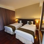 3,600 THB GRAND DELUXE TWIN SUITE 2 People 42 sqm.